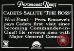 Image of President and Mrs. Franklin D. Roosevelt visiting U.S. Military Academ West Point New York USA, 1934, second 4 stock footage video 65675022615