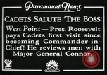 Image of President and Mrs. Franklin D. Roosevelt visiting U.S. Military Academ West Point New York USA, 1934, second 7 stock footage video 65675022615