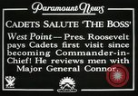 Image of President and Mrs. Franklin D. Roosevelt visiting U.S. Military Academ West Point New York USA, 1934, second 9 stock footage video 65675022615