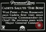 Image of President and Mrs. Franklin D. Roosevelt visiting U.S. Military Academ West Point New York USA, 1934, second 11 stock footage video 65675022615