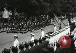 Image of President and Mrs. Franklin D. Roosevelt visiting U.S. Military Academ West Point New York USA, 1934, second 16 stock footage video 65675022615