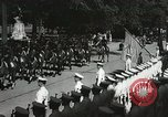 Image of President and Mrs. Franklin D. Roosevelt visiting U.S. Military Academ West Point New York USA, 1934, second 19 stock footage video 65675022615