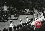 Image of President and Mrs. Franklin D. Roosevelt visiting U.S. Military Academ West Point New York USA, 1934, second 22 stock footage video 65675022615