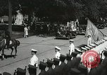 Image of President and Mrs. Franklin D. Roosevelt visiting U.S. Military Academ West Point New York USA, 1934, second 24 stock footage video 65675022615