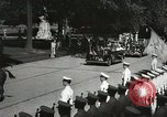 Image of President and Mrs. Franklin D. Roosevelt visiting U.S. Military Academ West Point New York USA, 1934, second 25 stock footage video 65675022615