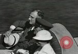 Image of President and Mrs. Franklin D. Roosevelt visiting U.S. Military Academ West Point New York USA, 1934, second 30 stock footage video 65675022615