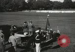 Image of President and Mrs. Franklin D. Roosevelt visiting U.S. Military Academ West Point New York USA, 1934, second 36 stock footage video 65675022615