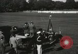 Image of President and Mrs. Franklin D. Roosevelt visiting U.S. Military Academ West Point New York USA, 1934, second 38 stock footage video 65675022615