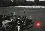 Image of President and Mrs. Franklin D. Roosevelt visiting U.S. Military Academ West Point New York USA, 1934, second 42 stock footage video 65675022615