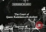 Image of Cultural show Hawaii USA, 1916, second 2 stock footage video 65675022620