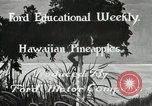 Image of Hawaiian pineapple workers resting Hawaii USA, 1916, second 7 stock footage video 65675022621