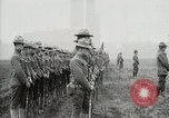 Image of US Army troops and band marching with flag during training United States USA, 1916, second 50 stock footage video 65675022632
