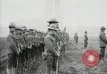 Image of US Army troops and band marching with flag during training United States USA, 1916, second 52 stock footage video 65675022632
