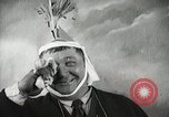 Image of Fat man playing tiny drum vintage humor United States USA, 1916, second 53 stock footage video 65675022634