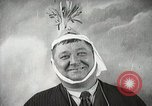 Image of Fat man playing tiny drum vintage humor United States USA, 1916, second 56 stock footage video 65675022634