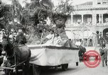 Image of Historical parade Hawaii USA, 1916, second 19 stock footage video 65675022635