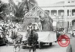 Image of Historical parade Hawaii USA, 1916, second 29 stock footage video 65675022635
