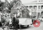 Image of Historical parade Hawaii USA, 1916, second 30 stock footage video 65675022635