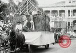 Image of Historical parade Hawaii USA, 1916, second 31 stock footage video 65675022635