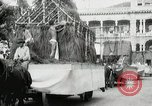 Image of Historical parade Hawaii USA, 1916, second 32 stock footage video 65675022635