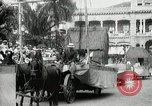 Image of Historical parade Hawaii USA, 1916, second 39 stock footage video 65675022635