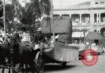 Image of Historical parade Hawaii USA, 1916, second 40 stock footage video 65675022635