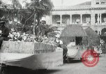 Image of Historical parade Hawaii USA, 1916, second 50 stock footage video 65675022635