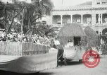 Image of Historical parade Hawaii USA, 1916, second 51 stock footage video 65675022635