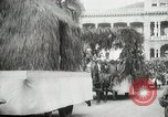 Image of Historical parade Hawaii USA, 1916, second 54 stock footage video 65675022635