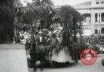 Image of Historical parade Hawaii USA, 1916, second 58 stock footage video 65675022635
