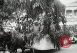 Image of Historical parade Hawaii USA, 1916, second 61 stock footage video 65675022635