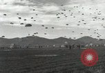 Image of Massive air drop by 187th Airborne Regimental Combat Team Korea, 1951, second 15 stock footage video 65675022693