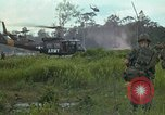 Image of 2nd Battalion of 173rd Airborne Brigade Combat Team Vietnam, 1965, second 15 stock footage video 65675022709