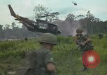 Image of 2nd Battalion of 173rd Airborne Brigade Combat Team Vietnam, 1965, second 17 stock footage video 65675022709