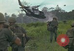 Image of 2nd Battalion of 173rd Airborne Brigade Combat Team Vietnam, 1965, second 18 stock footage video 65675022709