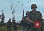 Image of 2nd Battalion of 173rd Airborne Brigade Combat Team Vietnam, 1965, second 42 stock footage video 65675022709