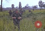 Image of 2nd Battalion of 173rd Airborne Brigade Combat Team Vietnam, 1965, second 50 stock footage video 65675022709