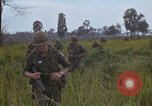 Image of 2nd Battalion of 173rd Airborne Brigade Combat Team Vietnam, 1965, second 52 stock footage video 65675022709