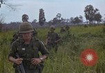 Image of 2nd Battalion of 173rd Airborne Brigade Combat Team Vietnam, 1965, second 53 stock footage video 65675022709