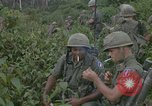 Image of 2nd Battalion of 173rd Airborne Brigade Combat Team Vietnam, 1965, second 55 stock footage video 65675022709