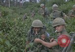 Image of 2nd Battalion of 173rd Airborne Brigade Combat Team Vietnam, 1965, second 56 stock footage video 65675022709