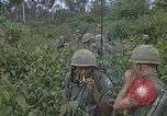 Image of 2nd Battalion of 173rd Airborne Brigade Combat Team Vietnam, 1965, second 58 stock footage video 65675022709