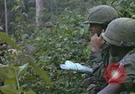 Image of 2nd Battalion of 173rd Airborne Brigade Combat Team Vietnam, 1965, second 61 stock footage video 65675022709