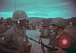 Image of 1st Battalion of 173rd Airborne Brigade Vietnam, 1965, second 41 stock footage video 65675022712