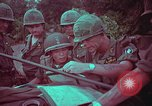 Image of 1st Battalion of 173rd Airborne Brigade Vietnam, 1965, second 57 stock footage video 65675022712