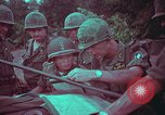 Image of 1st Battalion of 173rd Airborne Brigade Vietnam, 1965, second 58 stock footage video 65675022712