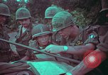 Image of 1st Battalion of 173rd Airborne Brigade Vietnam, 1965, second 60 stock footage video 65675022712