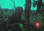 Image of 1st Battalion of 173rd Airborne Brigade Vietnam, 1965, second 34 stock footage video 65675022713