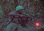 Image of 1st Battalion of 173rd Airborne Brigade Vietnam, 1965, second 38 stock footage video 65675022713