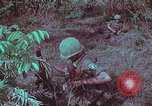 Image of 1st Battalion of 173rd Airborne Brigade Vietnam, 1965, second 52 stock footage video 65675022713